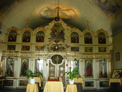 Inside the Holy Trinity Church